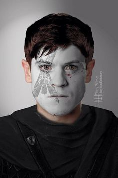 Ramsey Bolton, GOT War Paint by Hillary Heffron
