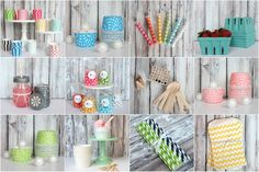 The TomKat Studio Party Shop - Pretty Printable Parties and Sweet Party Supplies