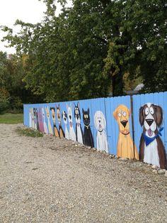 Diy Dog Playground Pictures Ideas Diy Dog Playground Pictures IdeasYou can find Dog playground and more on our website. Playground Pictures, Dog Playground, Playground Ideas, Playground Design, Fence Art, Dog Fence, Yard Fencing, Dog Backyard, Dog Kennel Designs
