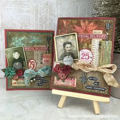 Richele Christensen: 12 Tags of 2015 / Holiday Card Series - May Inspiration