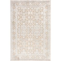 Wildon Home ® Ivory / White Area Rug & Reviews | Wayfair