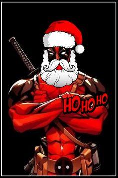 I wonder if Deadpool Santa would tell kids he didn't exist...