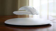 Futuristic Levitating Wireless Mouse Prevents Carpal Tunnel - My Modern Metropolis