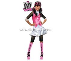 Disfraz de Draculaura MONSTER HIGH 5 a 7 años