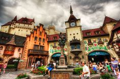 World Showcase, Germany, Epcot