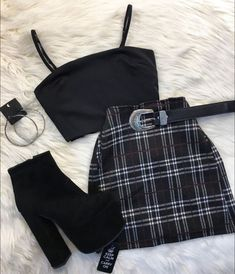 Outfit November 07 2019 at fashion-inspo Teen Fashion Outfits, Mode Outfits, Retro Outfits, Girly Outfits, Grunge Outfits, Grunge Clothes, School Outfits, Fashion Women, Hipster Outfits