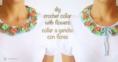 Ravelry: Crochet collar with flowers pattern by ChabeGS
