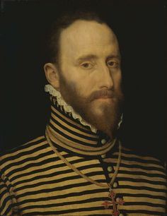 Portrait of a Knight of the Order of Calatrava, probably of the Sorias or Soreau Lineage (Sorel), attributed to Frans Pourbus (I), 1555 - 1581