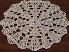 Crochet doily Step by step Tutorial - YouTube