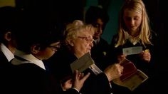 Recording history: Schoolchildren make WW2 documentary. Schoolchildren across the UK are getting an opportunity to find out what life was really like during World War II. At a school in Manchester, pupils interviewed Gladys Parry who explained the perils of living in wartime Britain. The documentary films will mark the 70th anniversary of VE Day later this year. #WorldWarII #WWII #history #children #kids #school #education #pupils #students