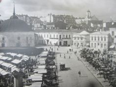 Viipuri market square. Date unknown.