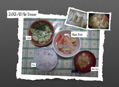 For Dinner on 16/Oct/2012