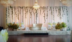 Pearl Studio's wedding reception in Seattle - golden gardan