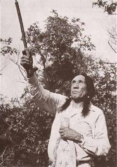 John Fire Lame Deer (in Lakota Tȟáȟča Hušté; 1903–1976)  He often participated in American Indian Movement events, including sit-ins at the Black Hills, land legally belonging to the Lakota that had been taken back by the United States government after the discovery of gold. The Black Hills are considered to be the axis mundi or center of the world to the Lakota Indians.  ~Wolfgang~
