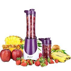 Instruction: Bestaid BL05 blender is perfect for single servings ,with 14 ounce and 20 ounce BPA-free bottles that include twist-on travel lids to keep your beverages in place no matter where you go. With powerful 300W motor and steel 4-blades the Bestaid delivers results that must be tasted to... - http://kitchen-dining.bestselleroutlet.net/product-review-for-bestaid-personal-blender-for-smoothie-with-two-sport-bottles-and-travel-lids-300wbl05-violet/
