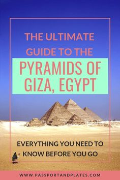 After 3 visits to the Pyramids of Giza in Egypt, I'm sharing everything you need to know before you go including when & how to visit, how to avoid scams, where to take the best photos, & where to stay near the Pyramids. Click to read! #Pyramids #PyramidsofGiza #EgyptianPyramids #Egypt #Cairo #EgyptTravel #Africa