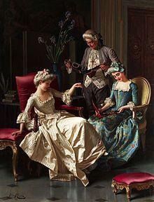 """Admiring the Gift"" Pio Ricci - Wikipedia"