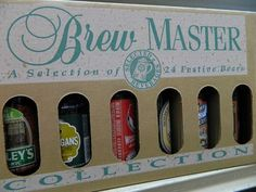 24 Pack Beers of the World $21.9924 Bottles 24 Different Beers from around the World In a convenient gift box already!!! (via Flanagan's V.I.P. Stop And Shop / Wine Review Newsletter)