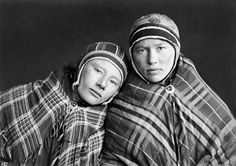 Sophus Tromholt, Portrait of two Sami girls from Kautokeino, Anna Aslaksdatter Gaup and Anna Johnsdatter Sernb, Kautokeino, Norway, 1882-1883. Source: The Picture Collection, University of Bergin Library, Norway