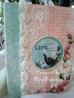 Shabby Chic photo and Journal Album by MindBarretty