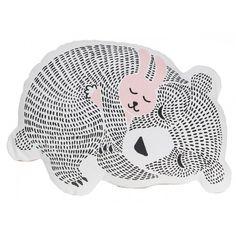 coussin ours et lapin - Le Petit Zèbre