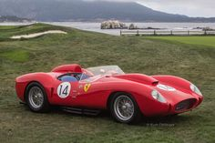 1958 Ferrari 250 Testa Rossa Scaglietti Spider (0728TR). Winner at Le Mans in '58 driven by Phil Hill and Olivier Gendebien (OC). : classiccars