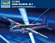 Vickers Wellington MK X Trumpeter 01628