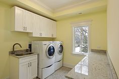 Laundry chores can be a burden to everyone, but can be even more problematic for the elderly or those that have physical limitations. If you are remodeling your home for aging in place, buying or building, here are some things for you to consider.