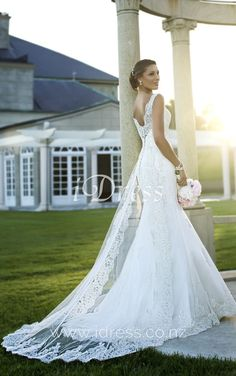 5786 Lace Bridal Gown by Stella York Ivory Lace Wedding Dress, Vintage Inspired Wedding Dresses, Wedding Dresses 2014, Lace Mermaid Wedding Dress, Elegant Wedding Dress, Bridal Lace, Designer Wedding Dresses, Wedding Attire, Elegant Dresses