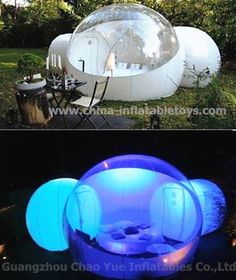 OEM Outdoor Inflatable Bubble Camping Tent pour Party (CYTT-1576) photo sur fr.Made-in-China.com