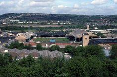 Old town ground football stadium, Leeds Road, Huddersfield.