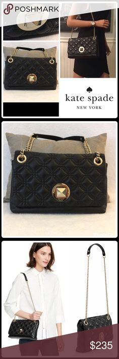 """JUST IN🌷CYNTHIA ASTOR COURT QUILTED BAG Perfectly sized to wear as a day or evening bag▪️Shoulder/Top Handle▪️Quilted Calf Leather▪️Flap with Turn-Lock Closure▪️Chain-Adorned Single Leather Strap▪️1 Interior Zip Pocket▪️2 Interior Slip Pockets▪️Signature Lining▪️Gold Plated Hardware▪️Product Tag & Care Card ▪️10.5""""L X 6""""H X 2.5""""W  🛍 2+ BUNDLE=SAVE  🚫TRADE  💯 Brand Authentic  ✈️ Ship Same Day--Purchase By 2PM PST  🖲 USE BLUE OFFER BUTTON TO NEGOTIATE   ✔️ Ask Questions Not…"""