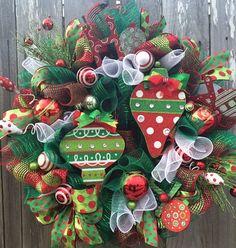All That Jingle Jangles Christmas Wreath Christmas by BaBamWreaths