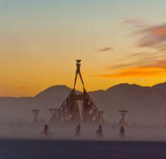 Burning Man Festival ~ Black Rock Desert, Nevada