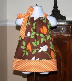 baby fall Pillowcase Dress toddler girl Michael by BlakeandBailey, $21.99