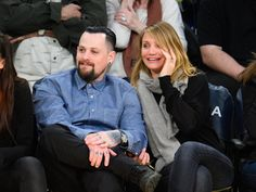 Pin for Later: 17 of the Most Magical Winter Weddings Cameron Diaz and Benji Madden Cameron and Benji married in a surprise ceremony at their home in LA in Janaury 2015, just weeks after getting engaged.