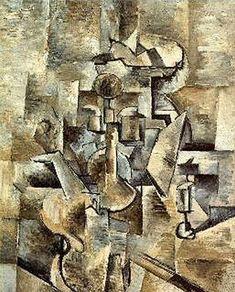 Violon et cruche ( 1909/1910), Georges Braque
