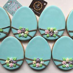 Biscoitos amanteigados, decorados, para Páscoa