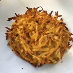 Oil Free Vegan Potato Nest