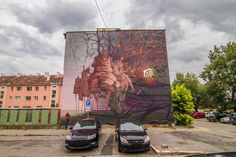 Proembrion & Sepe-new-mural-in-Kosice-Slovakia