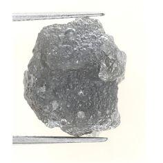 7.95 Carat Fancy Silver Gray Color Natural Rough Diamond