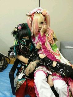 Takemasa. Hiyori. Kiryu. Visual Kei, Pretty People, Emo, Rave, Japan, Entertaining, Costumes, Guitar, Fantasy