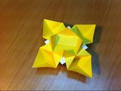 折り紙(おりがみ) 花の折り方 作り方 簡単