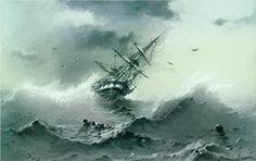 Shipwreck - Ivan Aivazovsky