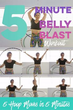Get happy, healthy & strong with this fat burning, tummy toning, core strengthening FUN workout sure to make you feel fit and fabulous https://youtu.be/w1DtjdV0Ink  Grab yourself an adult size hoop and watch this 5 minute workout on Hooplovers.tv YouTube for free