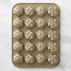 Nordic Ware Flower Petits Fours Pan #williamssonoma