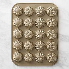 Nordic Ware Flower Petits Fours Pan   Williams-Sonoma