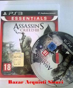 VIDEOGIOCO PS3 ASSASSIN'S CREED 3 ESSENTIAL
