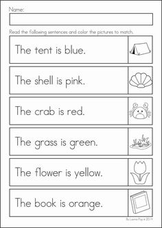 Reading Worksheets for Kindergarten Activities - Reading worksheets help children develop the early skills needed to become a good reader. Literacy Worksheets, Math Literacy, Reading Worksheets, Worksheets For Kids, Ixl Math, Summer Worksheets, Vowel Worksheets, Free Printable Worksheets, Free Printables