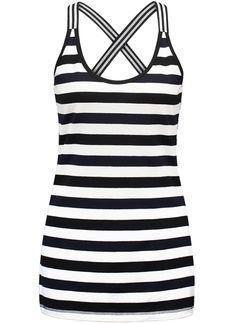 Studio Anneloes cloud stripe top 00583 Dames kleding Shirts en Tops zwart € 49,95 ✔  Direct leverbaar uit de webshop van Express Wear